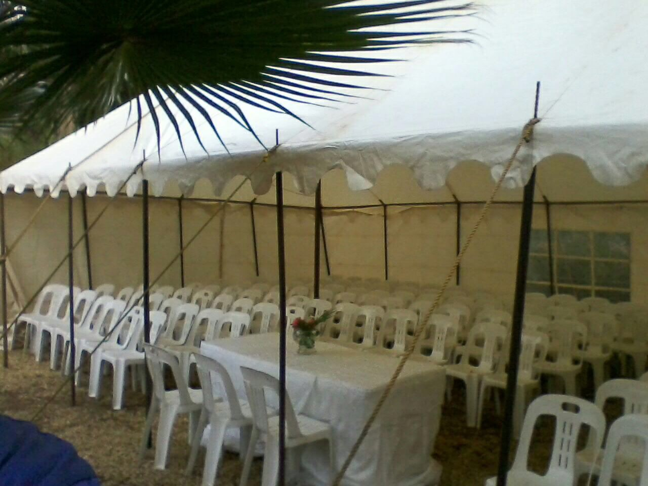 9×6 60 Seater Tent